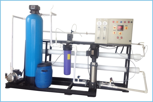 Package Drinking Water R.O Plant
